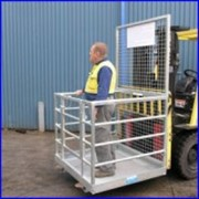 Forklift Safety Man-Cage (Demountable)