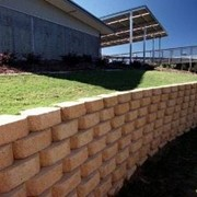 Retaining Wall System | Diamond Retaining Wall