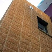 Decorative Walls | Coloured Block | Pitched Stone