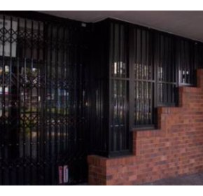 Steel Doors & Window Grilles - Commercial