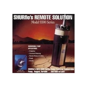 Solar Submersible Pumps | SHURflo 24V Package