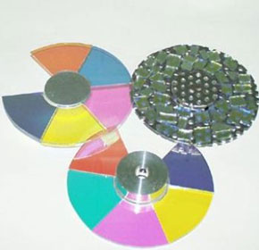 Fibre Optic Product | Colour Wheels