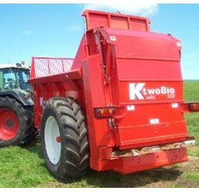 Muck Spreaders | K-Two Trio 18 Tonne