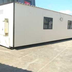 Portable Building | Large Family Unit with Bathroom and Kitchen areas