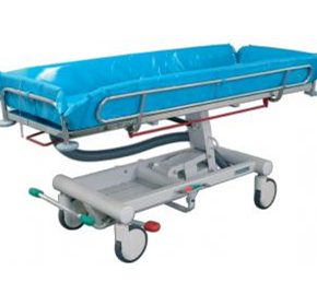 Midmark Ocea Hydraulic Lift Shower Trolley