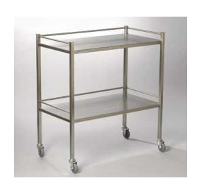 Instrument Trolley Without Drawer Range