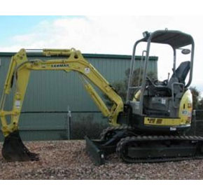 Used Yanmar Vio27 3.0t Mini Excavator Zero Swing