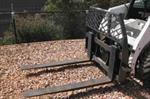 Bradco 2.2t Pallet Fork Skid Steer Attachment