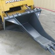 Skid Steer Attachment | Stump & Trench Bucket