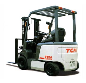 TCM Battery Electric Forklifts  4 wheel