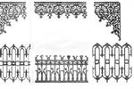 Cast Iron Lacework