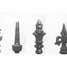 Cast Iron Picket Heads