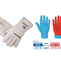 HexArmor Safety Gloves - HOTMILL 8100