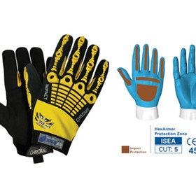 Safety Gloves - CHROME SERIES: CUT 5 IMPACT - 4025
