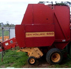Used Farm Machinery | New Holland 650