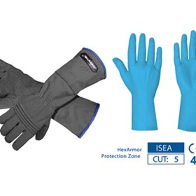 HexArmor Safety Gloves - - 400R6E