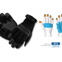 HexArmor Safety Gloves - GENERAL SEARCH & DUTY GLOVE - 4045