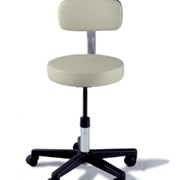 Manually Adjustable Hospital Stool With Back - Midmark/Ritter 271