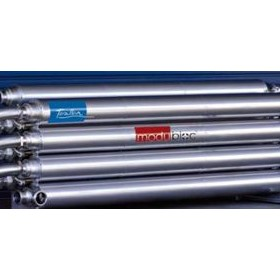 Pipe Heat Exchanger - Dimpleflo Modubloc