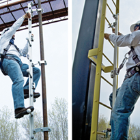 Vertical Fall Arrest Rail System - Railok™ 90