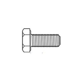 "UNF Hex Bolts | 1/4"" x 3/4"" Hex Head Bolt 