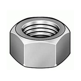 Hex Nut | M6 | Black Plain | Small Lot Of 25