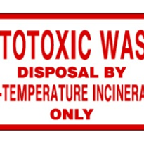 Cytotoxic Waste Labels
