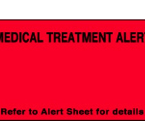 Medical Warning Signs - Medical Treatment Alert