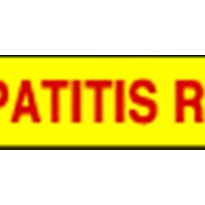 Medical Warning Labels - Hepatitis Risk Signs