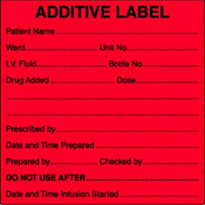 Additive Labels