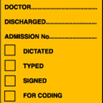 Discharge Labels