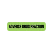 Adverse Drug Reaction Label - Green