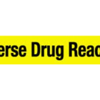 Adverse Drug Reaction Label - Medium