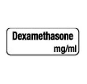 Anaesthesia Drug Identification Labels - DEXAMETHASONE