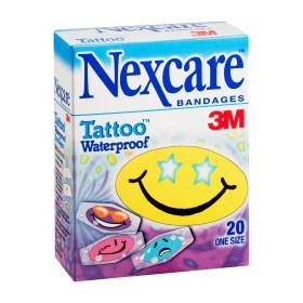 Tattoo™ Cools Waterproof Strips | Nexcare™