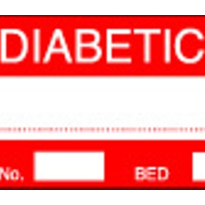 Medi Print Australia - Medical Alert Labels - DIABETIC