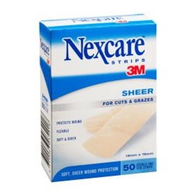 Sheer Wound Strips | Nexcare™