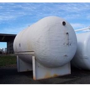 Used Fibreglass Storage Tank | Horizontal | Gebel