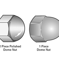Dome Nuts in 304 & 316 Stainless Steel