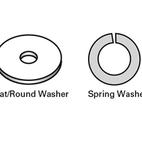 Flat/Round Washers & Spring Washers (304, 316 Stainless Steel)
