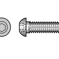 Button Head Socket Screws (304, 316 Stainless Steel)