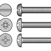 Pan Head Machine Screws (304, 316 Stainless Steel)