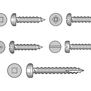 Pan Head Self Tapping Screws (304, 316 Stainless Steel)