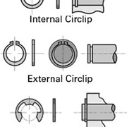 Internal, External and E-Type Circlips (304 Stainless Steel)