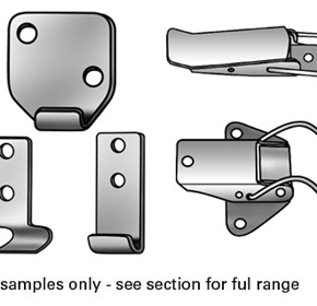 Toggle Catches & Toggle Latches (304 Stainless Steel)