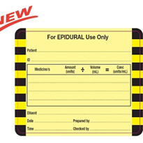 Epidural Labels - New