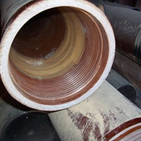 Used 6 inch fibreglass surface pipes