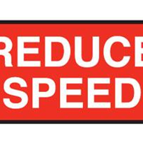 Speed Control Signs
