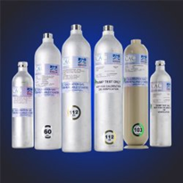 Calibration Gas Cylinders for the food storage/refrigerant industry