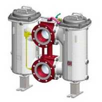 Change-Over Filter in Cast Design - RFLD DN 150